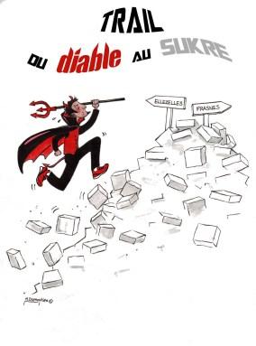 Logo - Trail du diable au SUKre